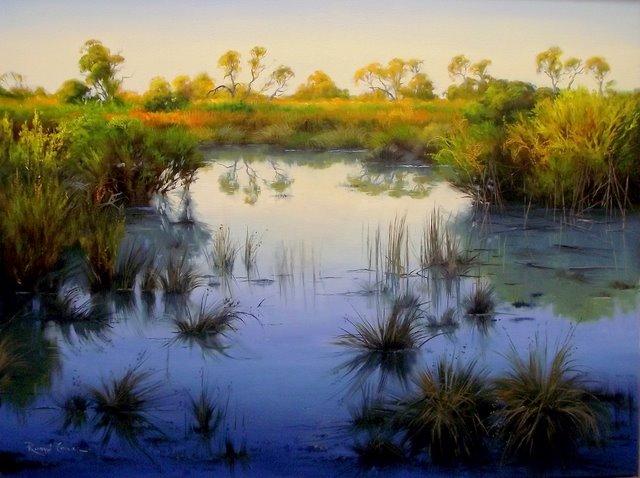 Swamp Of The Diamantina Copy