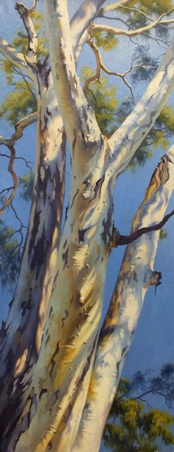 SUNLIGHT AND SHADOW   30x76cm