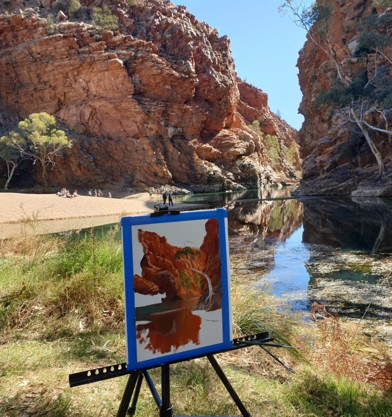 PLEIN AIR – ELLERY CREEK BIGHOLE.